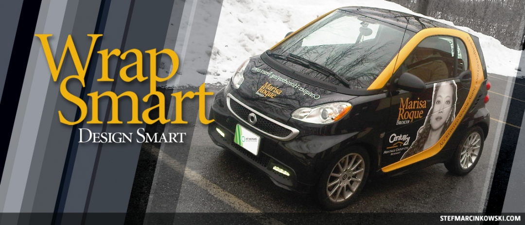 Vehicle Wrap: Smart Car